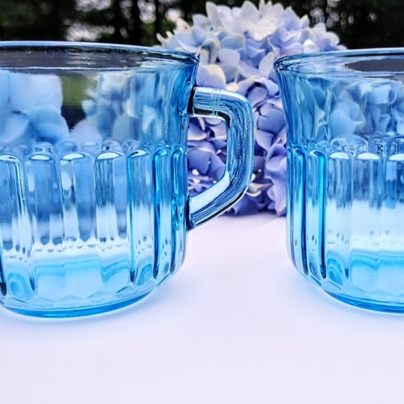 Set of Azure Fortecrisa Mexico Teacups